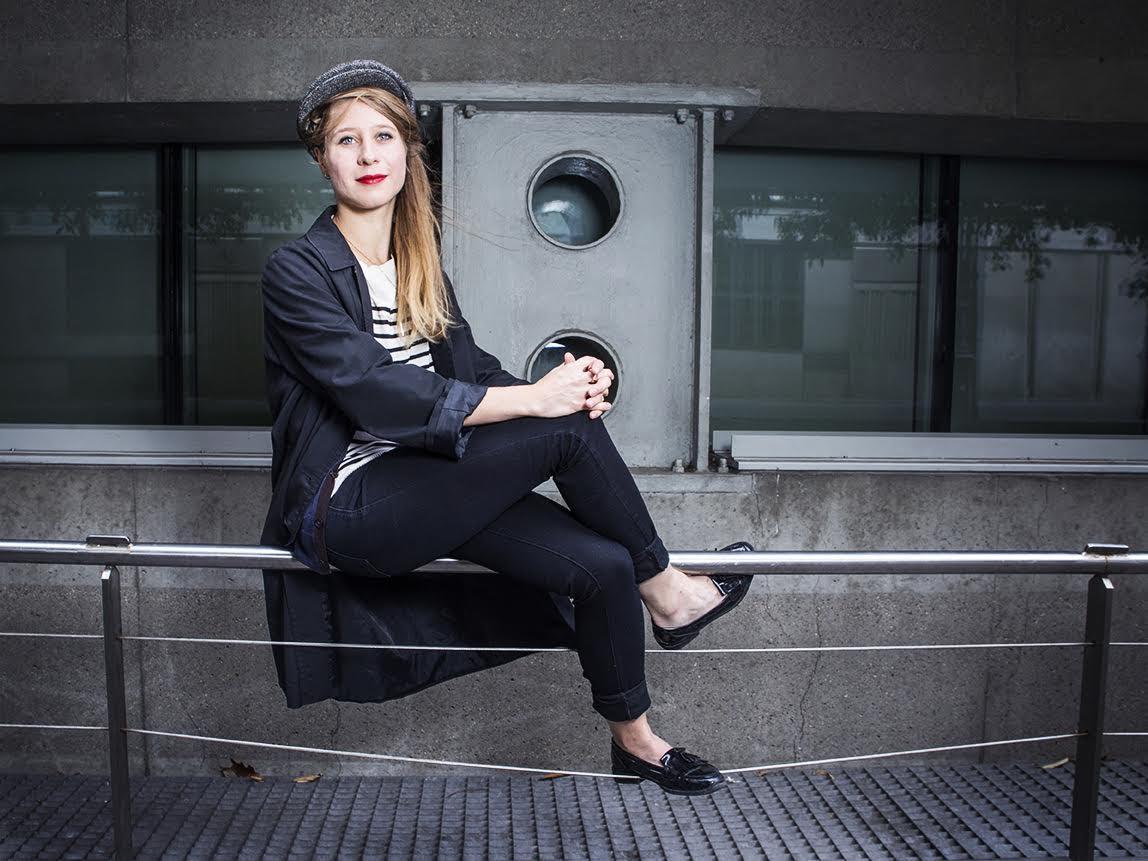 L'artiste performeuse Ségolène Thuillart