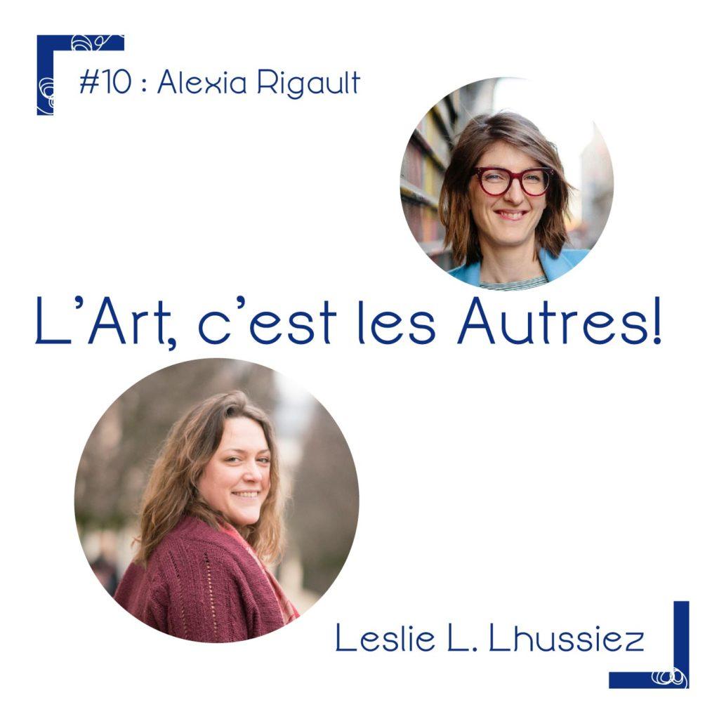 Alexia Rigault, chasseur d'art et CEO de l'entreprise MursBlancs