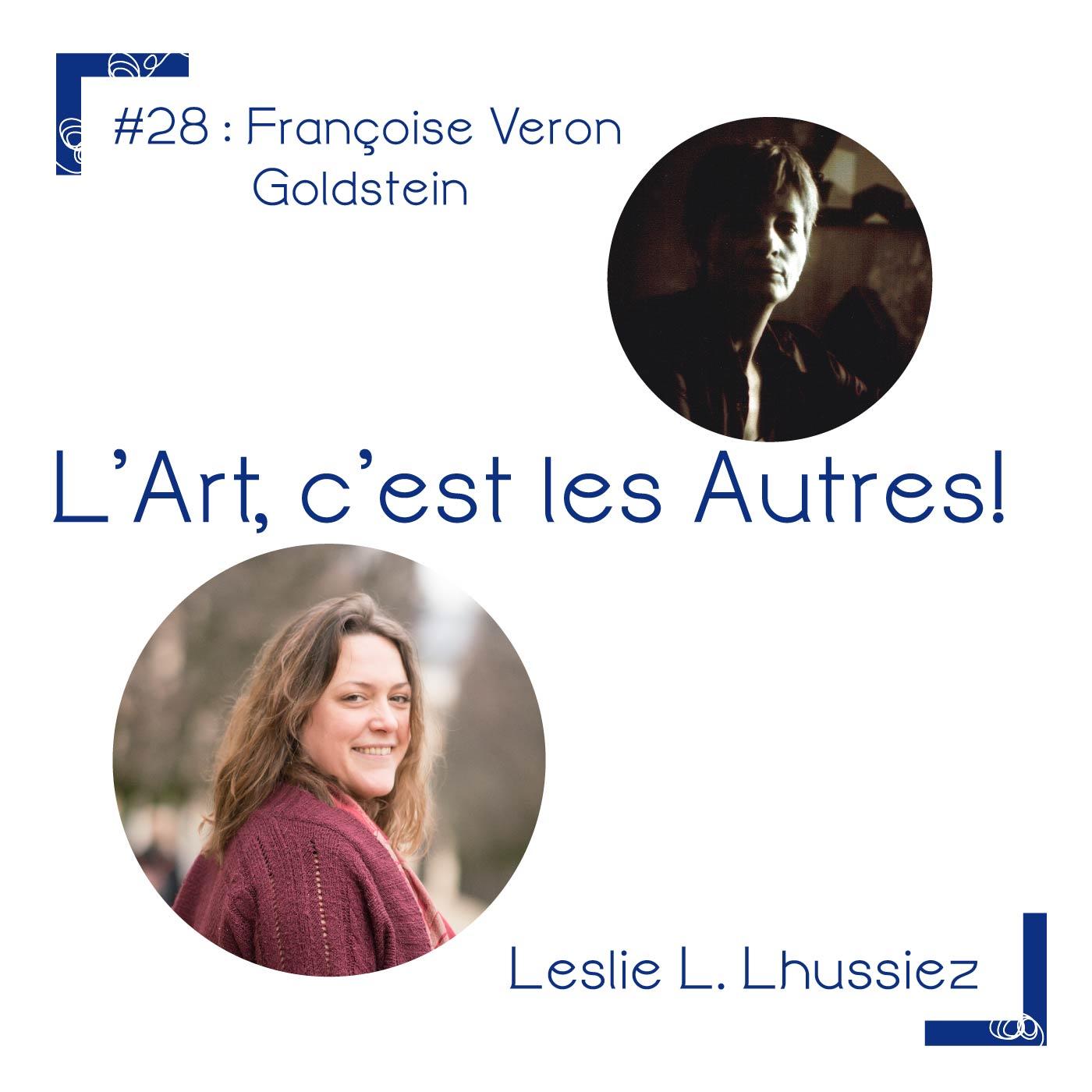 Portrait de Françoise Véron Goldstein
